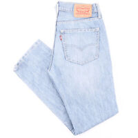 Vintage LEVI'S 511 Blue Denim Slim Straight Jeans Mens W31 L30