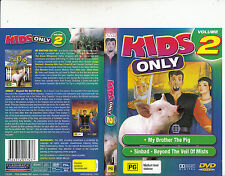 My Brother The Pig/Sinbad Beyond The Veil of Mists-Animated Kids Only Vol 2-DVD