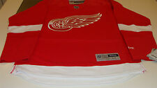 Detroit Red Wings Home Red Jersey Nhl Hockey Reebok Nwt Adult Xl Premier New