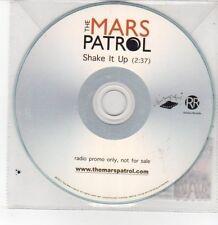 (DQ226) The Mars Patrol, Shake It Up - 2011 DJ CD