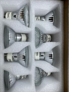 8 x GU10 Bulbs SMD Spotlight lamps 50w 230/240v NEW