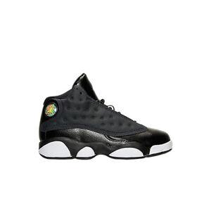 Jordan Pre-School  13 Retro Gp Fashion Sneakers 439669-009 Black/Anthricite