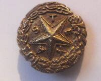 CSA BRASS TEXAS HAT PIN - CONFEDERATE STATES OF AMERICA - CIVIL WAR