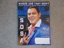Sports Illustrated Sammy Sosa Where are they now? July 2 and 9 2018 double issue