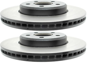 Set of 2 Front Disc Brake Rotors ACDelco Professional 18A2342 SC