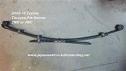 2005-15 Toyota Tacoma Leaf Spring Left Rear Prerunner 2WD 4WD 4822004190 ,