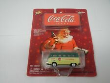 Johnny Lightning Coca-Cola Volkswagen Samba Bus