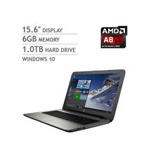 Brand New HP 15-af113cl Laptop Notebook Quad-Core A8-7410 6G 1TB Win 10 2y war