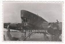 Original Foto russisches Gross - Flugzeug bei Orel 2. WK