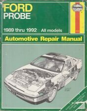 FORD PROBE COUPE 2.2 4-CYL & 2.5 V6 ( US SPEC ) 1989-1992 OWNERS REPAIR MANUAL