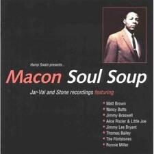 MACON SOUL SOUP Various NEW & SEALED NORTHERN SOUL CD (GRAPEVINE) R&B JAR-VAL