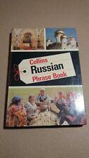 VINTAGE COLLINS PHRASE BOOK RUSSIAN
