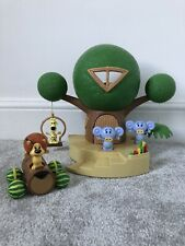 Raa Raa The Noisy Lion Treehouse Playset Figures Cubby Buggy Sounds Working