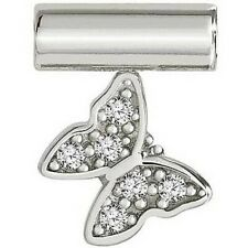 Nomination 147116/010 Sterling Silver Seimia Pendant with Butterfly