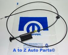 NEW 79-93 Dodge D150-D350,W150-W350, Ramcharger Hood-Latch Lock Release Cable,OE