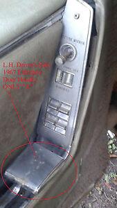 67 CADILLAC ELDORADO INTERIOR DOOR HANDLE LH Driver or RH Passenger Front / Rear