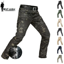 Mens Army Military Tactical Pants Combat Cargo Waterproof Hiking Casual Trousers