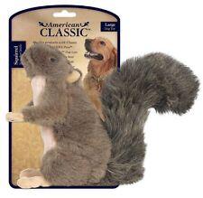 JAKKS American Classic LARGE SQUIRREL Squeaker Plush Dog Toy New