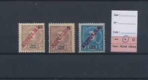 LO45214 Sao Tome e Principe Portugal republica overprint fine lot MH