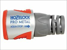 Hozelock - 2035 Pro Metal Aqua Stop Hose Connector 12.5 - 15mm - 2035P0000