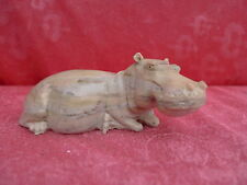 Beautiful Stone Figures - Hippo - Semi-Precious Stones___