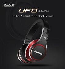 Bluedio U (UFO) High-End Premium Bluetooth Kopfhörer 8 Treiber Bass Sound Rot