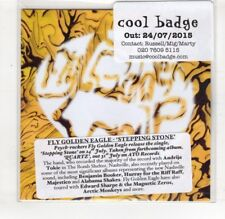 (HS183) Fly Golden Eagle, Stepping Stone - 2015 DJ CD
