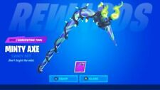 Fortnite Merry Mint Pickaxe Exclusive DLC