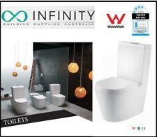 NEW Stylish  Rimless Toilet Suite  with Slim Line  seat