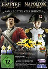 PC GIOCO Empire & Napoleone Total War GOTY Game of the Year EDT. spedizione DVD NUOVO