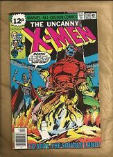 Uncanny X-Men #116 vfn 1978 British cover priced variant  Signed Marvel Comics