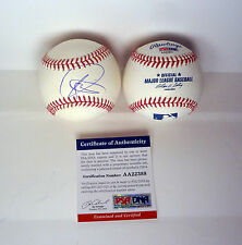 NOVAK DJOKOVIC WIMBLEDON US OPEN SIGNED AUTOGRAPH MLB BASEBALL PSA/DNA COA