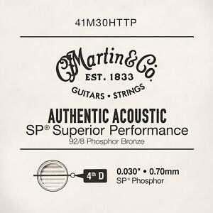Martin .030 Authentic Acoustic Phosphor Bronze Single String