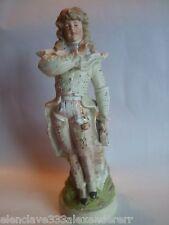 Figura decorativa JOVEN DIECIOCHESCO Biscuit Porcelanico Restaurado Frances