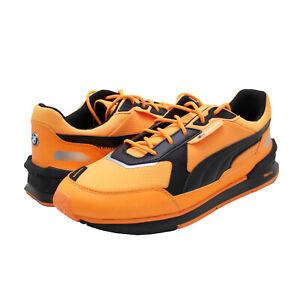 Men's Shoes PUMA BMW MOTORSPORT LOW RACER Sneakers 30693901 ORANGE GLOW / BLACK