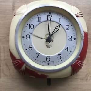 1950's Smiths Sectric Electric Kitchen Clock For Restoration 99p St Bid