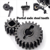 KYX Metall Portal Axle Steel Teeth Set Für Axial Capra UTB RC Auto Crawler Teile