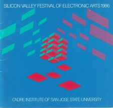 1986 Exhibition-Silicon Valley Festival Of Electronic Arts-Artist & The Computer