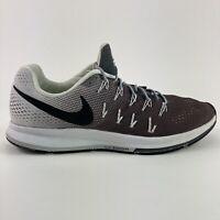 Nike Zoom Pegasus 33 Men's Size 12.5 Brown Running Jogging Low Athletic Shoes
