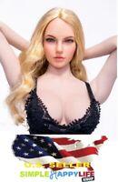 1//12 Harley Quinn Head Suicide Squad avec batte de base-ball pour PHICEN T01A T01B ❶ USA ❶