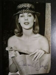 JANET LAKE Authentic Hand Signed Autograph 4X6 Photo - SEXY 1950'S ACTRESS -RARE