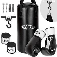 Set da boxe guanti da sacco pugilato bendaggi allenamento sport guantoni fitness