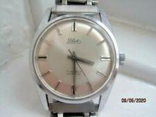 Vintage 60's Pilot Swiss Chrome Plated Gents Mechanical Watch.