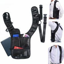 Men Waterproof Anti theft Hidden Shoulder Holster Wallet Underarm Backpack  Zip