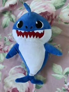 Singing Musical Toy Daddy Baby Shark Flashing Lights Full Song 30cm