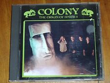 COLONY *RARE CD ' THE ORIGIN OF SPECIES '  1989 EXC
