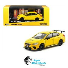 Tarmac Works 1:64 Subaru WRX STI S207 (Sunrise Yellow)