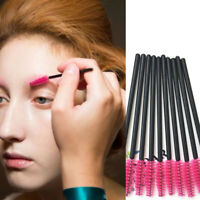 100x Disposable Eyelash Brush Cosmetic Makeup Tool Wands Mascara Kit Applic U6Z8