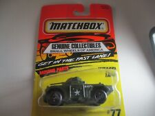 """'Vintage"""" Matchbox Action System #77 WEASEL TANK+MOVING PARTS Carded! Thailand"""