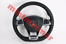 MERCEDES BENZ C A B CLA CLS V CLASS W205 AMG MLF BRABUS PADDLES STEERING WHEEL